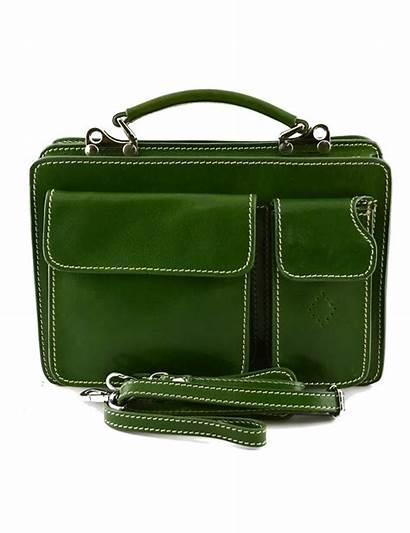 Leather Genuine Bag Business Mod Dado Mini