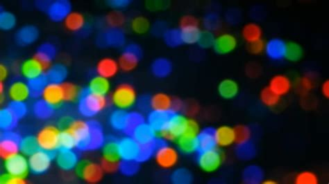 HD Background Organic Rainbow Colored Bokeh Nature's Color