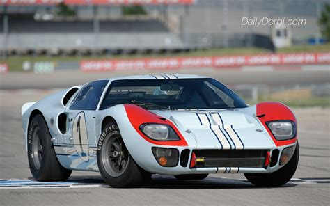 Weekend Wallpaper 1966 Ford Gt40 Mark Ii The Daily Derbi