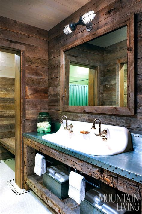 rustic cabin bathroom ideas 2015 home of the year the legacy house in 2019 rustic