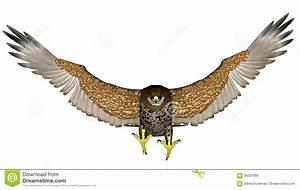 Dark Falcon Flying - 3D Render Stock Illustration ...