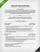 Bartender Resume Sample Resume Genius Professional Resume Draftsman Mighty Peace Golf Club By Clicking Build Your Own You Agree To Our Terms Of Use And Privacy Bartender Resume Samples Templates And Experienced Bartender Resume