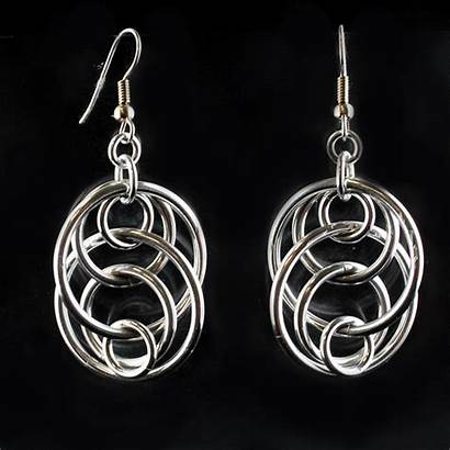 Chainmaille Earrings Patterns Jewelry Making Tutorials Tutorial