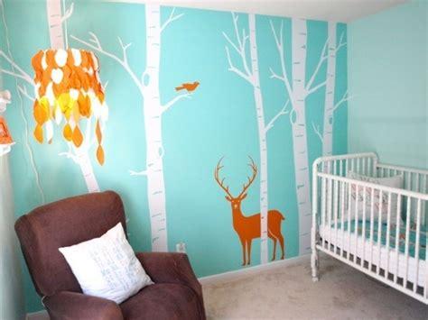 peinture mur chambre bebe la peinture chambre bébé 70 idées sympas