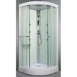 cabine de douche hydromassante arpege 1 4c 90cm achat With porte de douche coulissante avec mitigeur salle de bain avec douchette