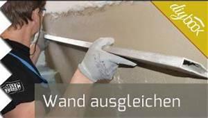 Wand Glatt Spachteln Anleitung : estrich ausgleichen video anleitung ~ Frokenaadalensverden.com Haus und Dekorationen
