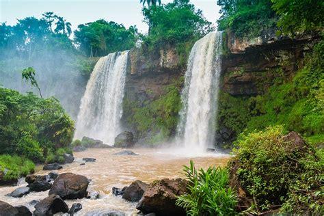 waterfall water waterfalls  photo  pixabay