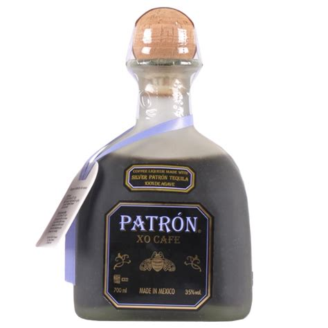 The perfect way to enjoy patrón is responsibly. Patron XO Cafe Coffee Liqueur with Tequila 70cl ...