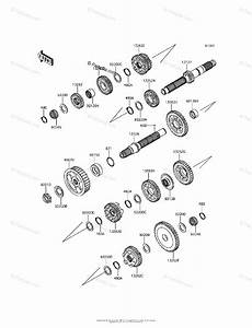 Kawasaki Motorcycle 2013 Oem Parts Diagram For