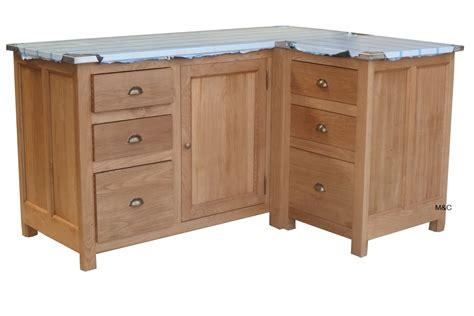 meuble pour evier cuisine meuble de cuisine d 39 angle en chene ou pin massif