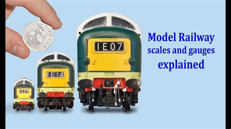 guide  model railway scales gauges youtube