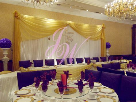 theme of wedding yellow purple joyce wedding services