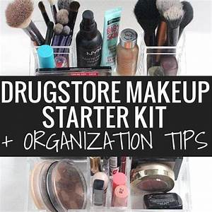 Beginner Makeup Tips amp Starter Kit  Drugstore Faves!