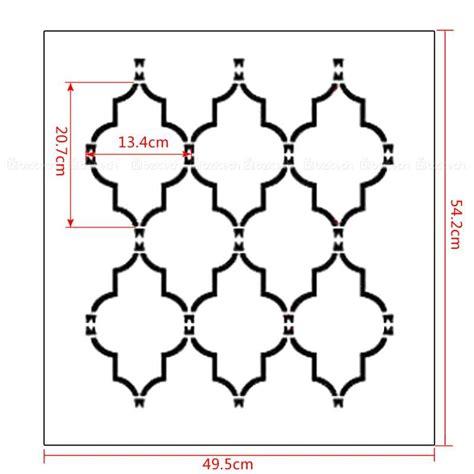 resultado de imagem para stencil na parede patterns stenciling patterns and walls