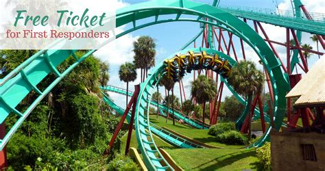 Free Busch Gardens Ticket + More for First Responders ...
