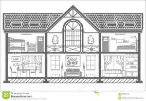 Inside House Outline Clip Art