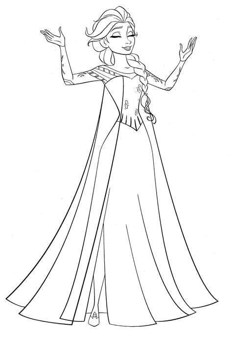 In an early version of the story, pocahontas'. Get This Disney Queen Elsa Coloring Pages Frozen - 61729