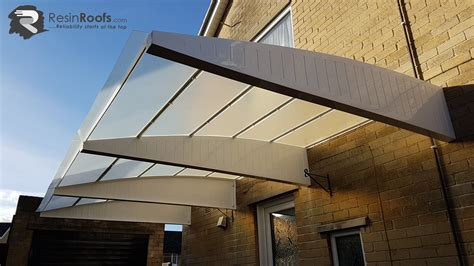carport cantilever grp up to 2440mm projection including fixing kit resin roofs roofing