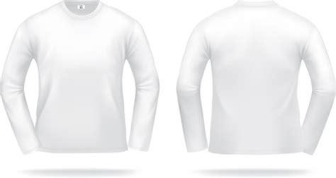 t shirt kaos lengan panjang hitam coreldraw t shirt template free vector 16 986