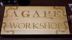 woodcarving howto carving a shop sign part 1 of 3 With carving letters in wood with dremel