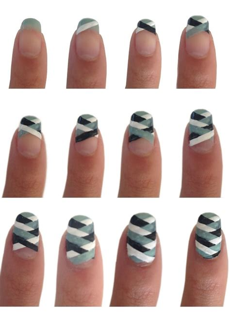easy nail designs step by step simple nail tutorial step by step style arena