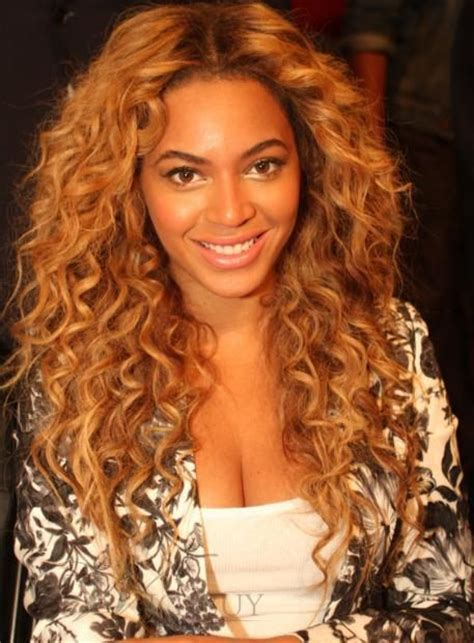 deluxe custom beyonce hairstyle long curly lace wig
