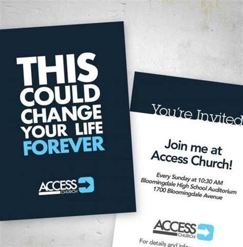 invitation cards church outreach church graphic design