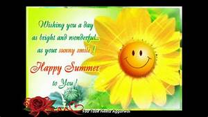 Happy Summer,Welcome Summer Season, Wishes,Greetings ...