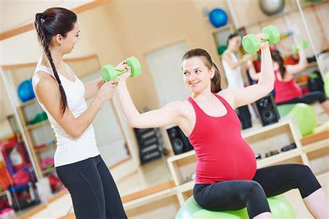 pregnancy exercise classes parents