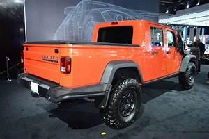 2016 Jeep Wrangler Brute Pickup Rear Three Quarter - Photo
