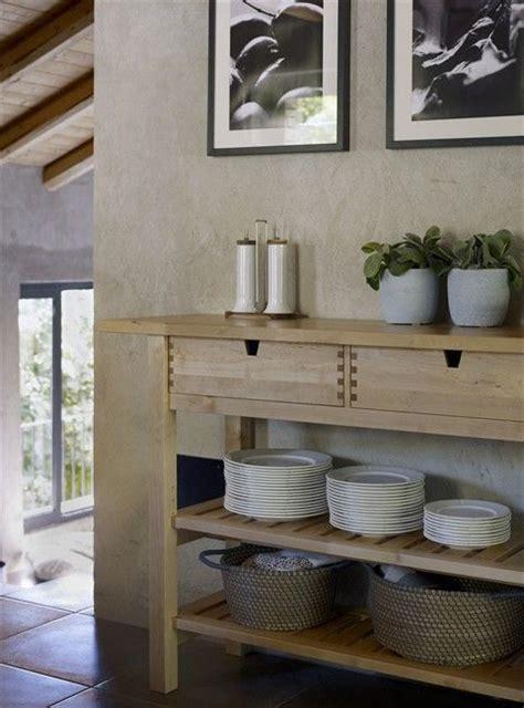 foerhoeja birch kitchen trolley  ikea