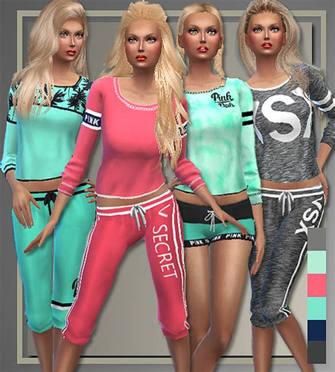 style athletic separates sims  downloads