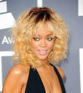 15 Rihanna Short Curly Hair | Short Hairstyles 2017 - 2018 ...