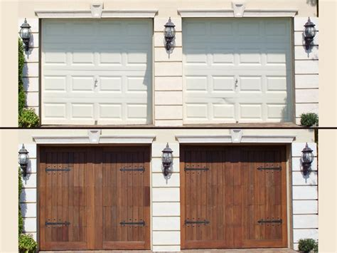 garage door refacing house plans