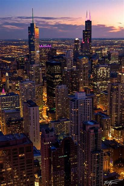 York Iphone Chicago Aesthetic Night Wallpapers Backgrounds