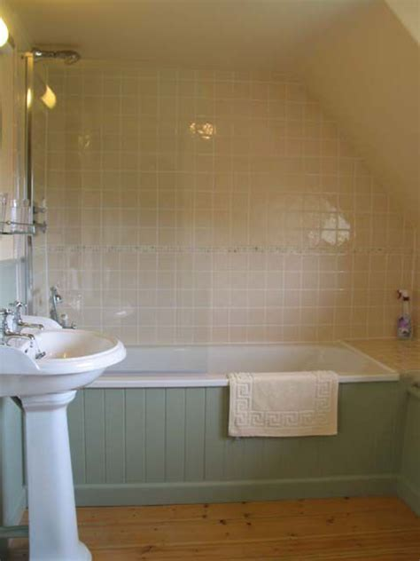 Bath Panel Cupboard by Tongue And Groove Bath With Tiling Bathroom Ideas