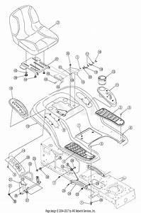 Troy Bilt 13at609g766 Super Bronco  2005  Parts Diagram For Fender Assembly