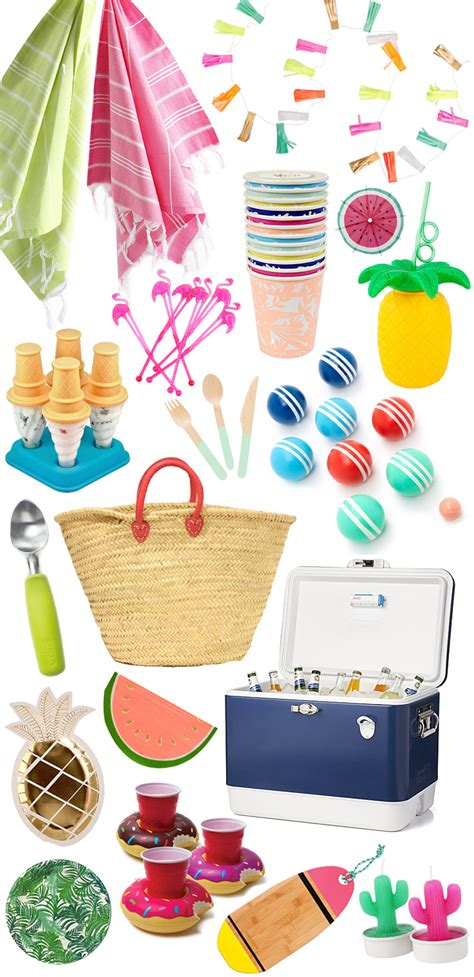 summer party supplies domestikatedlife