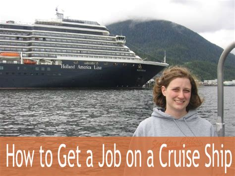 How To Get A Job On A Cruise Ship - BrokeGIRLrich