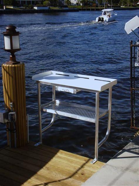 aluminum fish cleaning table fish cleaning tables tuna tables atlantic aluminum marine