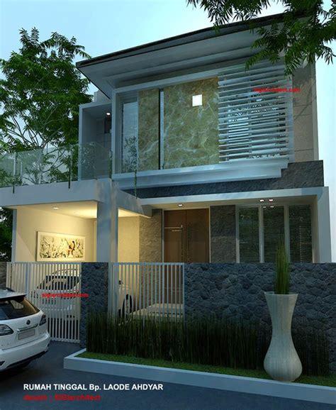 denah rumah minimalis model rumah  lantai  home modern