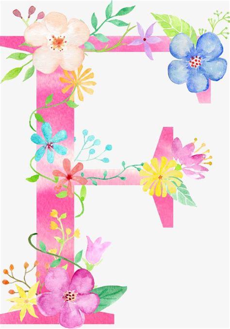 flowers letter  letter clipart letter flower png transparent clipart image  psd file