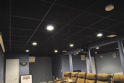soundproof drop ceiling in basement 25 best ideas about black ceiling on