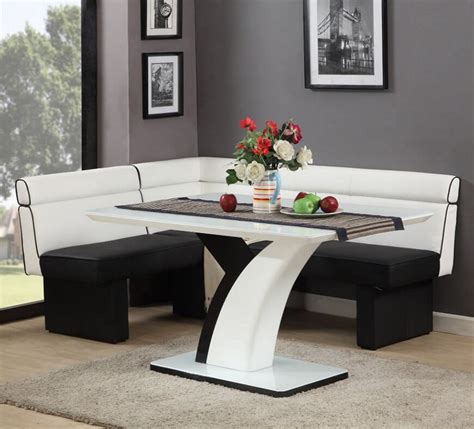 kitchen dinette sets with bench cool and useful corner dining table ideas for your home