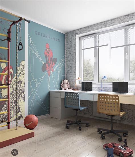 chambre 2 enfants chambre d enfant en bois clair et tons pastel un espace
