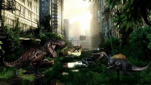 Dinosaur background ·① Download free full HD backgrounds ...