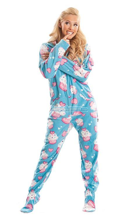 Adult Pajamas With Feet Best Porno