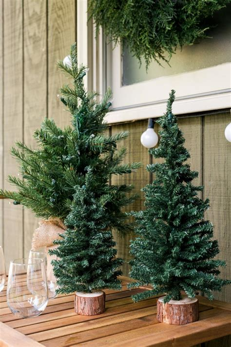 front porch christmas trees how to turn your front porch into the north pole outdoor spaces patio ideas decks gardens