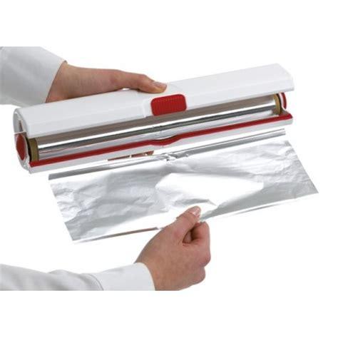 chalumeaux de cuisine dérouleur coupe ou papier alumium emsa la carpe