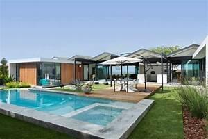 amenagement exterieur moderne 75 idees inspirantes With amenagement exterieur jardin moderne